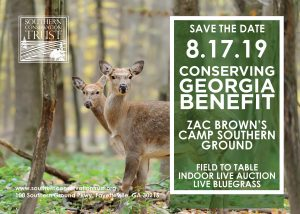 Conserving Georgia Benefit @ Zac Brown's Camp Southern Ground