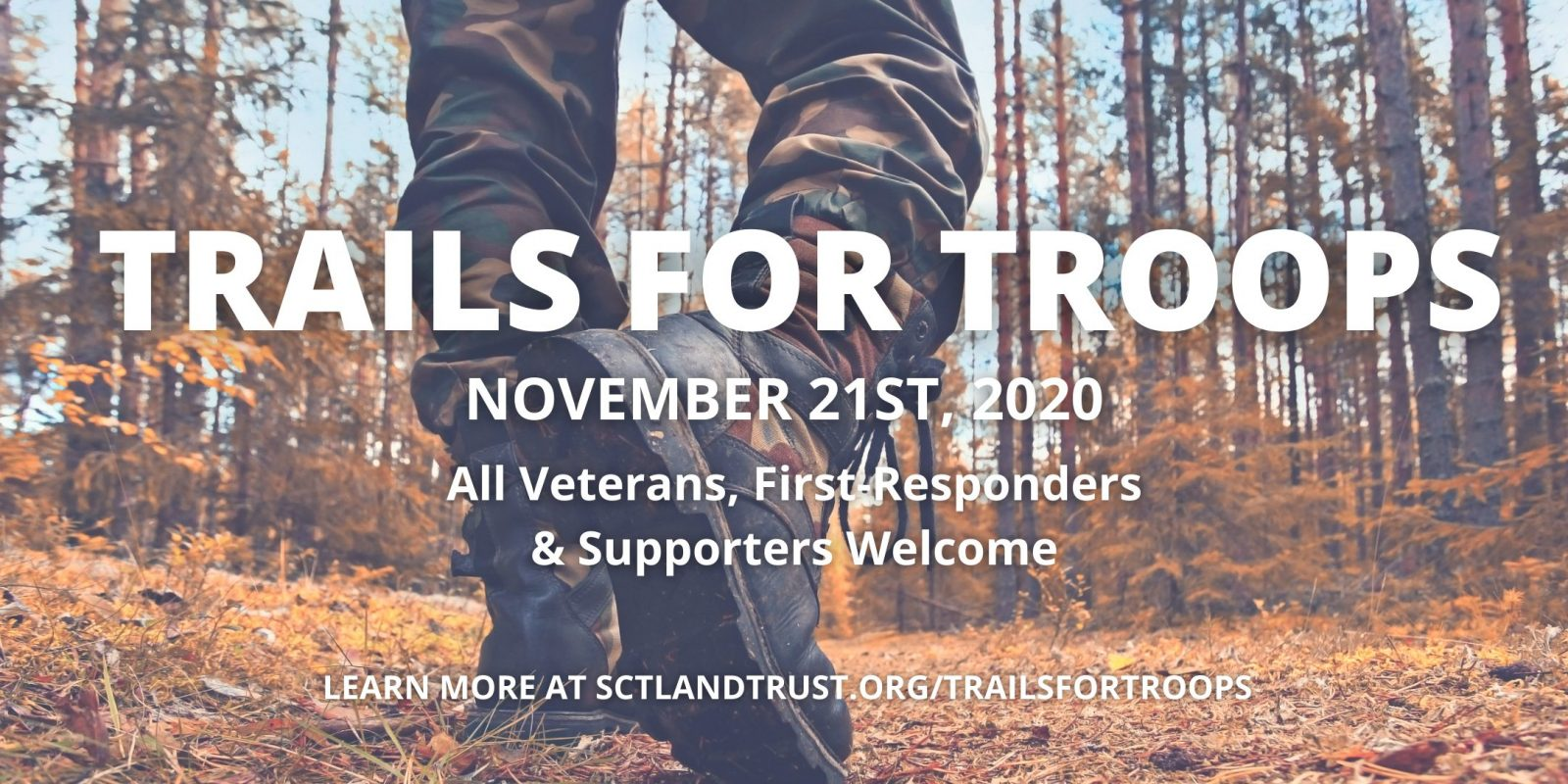 Trails for Troops: 5K Ruck & 5K Run at The Ridge Nature Area @ The Ridge Nature Area